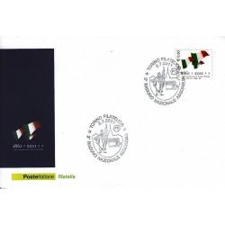 FDC ITALIA Marcofilia Annullo speciale n° 1176 02/07/2011 Torino Filatelico