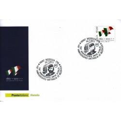 FDC ITALIA Marcofilia Annullo speciale n° 1235 24/07/2011 Bezzecca (TN)