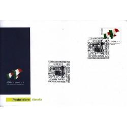 FDC ITALIA Marcofilia Annullo speciale n° 2366 27/12/2011 Bordonecchia (TO)
