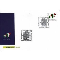 FDC ITALIA Marcofilia Annullo speciale n° 18 22/01/2012 Rimini
