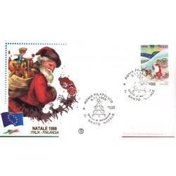 IT Repubblica FDC - Filagrano - 05/11/1999 Natale Laico - Babbo Natale a/s Roma