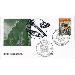FDC ITALIA 1988 ALA Unif. 1836 Homo Aeserniensis AS/Isernia