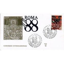 FDC ITALIA 1988 ALA Unif. 1861 Gastroenterologia ed Endoscopia Digestiva AS/Roma
