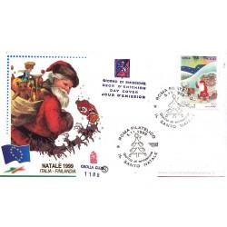 IT Repubblica FDC - Grolla Club - 05/11/1999 Natale Laico - Babbo Natale a/s Roma