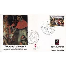 FDC ITALIA 1988 Grolla Club Unif. 1870 San Carlo Borromeo AS/MI