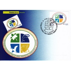 FDC ITALIA 2006 Cartolina Poste Italiane Unif. 2977 Aree Protette AS