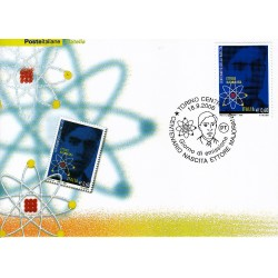 FDC ITALIA 2006 Cartolina Poste Italiane Unif. 2971 Ettore Majorana AS