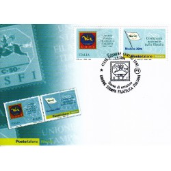FDC ITALIA 2006 Cartolina Poste Italiane Unif. 2967 Unione Stampa USFI AS