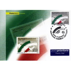 FDC ITALIA 2006 Cartolina Poste Italiane Unif. 2958 Assemblea Costituente