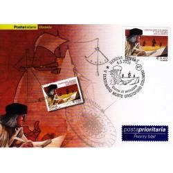 FDC ITALIA 2006 Cartolina Poste Italiane Unif. 2951 Cristoforo Colombo