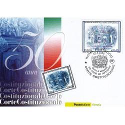 FDC ITALIA 2006 Cartolina Poste Italiane Unif. 2945 Corte Costituzionale