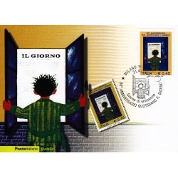 FDC ITALIA 2006 Cartolina Poste Italiane Unif. 2944 Quotidiano Il Giorno