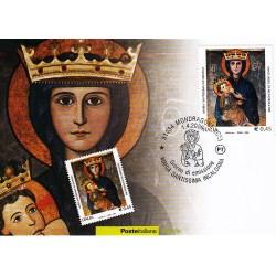 FDC ITALIA 2006 Cartolina Poste Italiane Unif. 2939 Basilica M.SS. Incaldana as