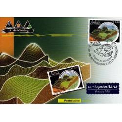 FDC ITALIA 2006 Cartolina Poste Italiane Unif. 2938 Giornata della Montagna