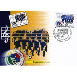 FDC ITALIA 2006 Cartolina Poste Italiane Unif. 2932 Nazionale Cantanti