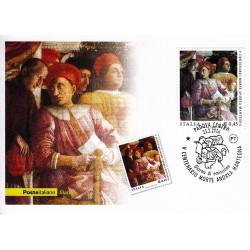 FDC ITALIA 2006 Cartolina Poste Italiane Unif. 2927 Andrea Mantegna