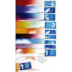 FDC ITALIA 2006 Cartolina Poste Italiane Unif. 2916/24 Giochi Olimpici Invernali