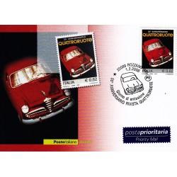 FDC ITALIA 2006 Cartolina Poste Italiane Unif. 2911 Quattroruote