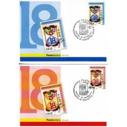 FDC ITALIA 2006 Cartolina Poste Italiane Unif. 2908/9 Diciottenni
