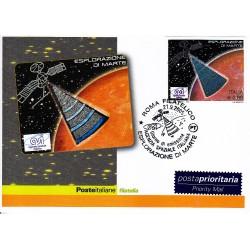 FDC ITALIA 2005 Cartolina Poste Italiane Unif. 2885 Esplorazione Marte