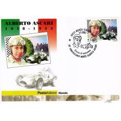 FDC ITALIA 2005 Cartolina Poste Italiane Unif. 2880 Alberto Ascari