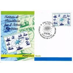 FDC ITALIA 2005 Cartolina Poste Italiane Unif. 2878 I.P.SE.MA Previdenza Settore Marittimo