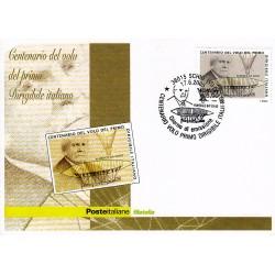 FDC ITALIA 2005 Cartolina Poste Italiane Unif. 2875 Dirigibile Italiano