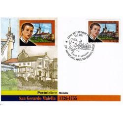 FDC ITALIA 2005 Cartolina Poste Italiane Unif. 2871 San Gerardo Maiella
