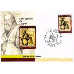 FDC ITALIA 2005 Cartolina Poste Italiane Unif. 2864 Sant'Ignazio da Làconi