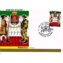 FDC ITALIA 2005 Cartolina Poste Italiane Unif. 2861 L'Esercito Italiano
