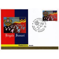 FDC ITALIA 2005 Cartolina Poste Italiane Unif. 2848 Brigata Sassari