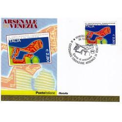 FDC ITALIA 2004 Cartolina Poste Italiane Unif. 2828 Arsenale di Venezia