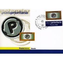 FDC ITALIA 2004 Cartolina Poste Italiane Unif. 2809 Posta Prioritaria 2,00 €
