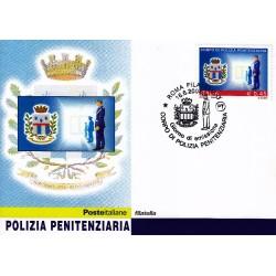 FDC ITALIA 2004 Cartolina Poste Italiane Unif. 2808 Polizia Penitenziaria
