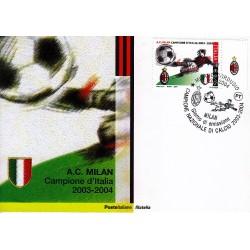 FDC ITALIA 2004 Cartolina Poste Italiane Unif. 2804 Milan