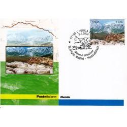 FDC ITALIA 2004 Cartolina Poste Italiane Unif. 2800 Il Tratturo Magno