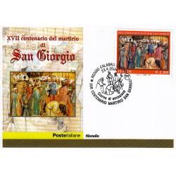 FDC ITALIA 2004 Cartolina Poste Italiane Unif. 2797 San Giorgio