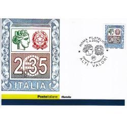FDC ITALIA 2004 Cartolina Poste Italiane Unif. 2788 Alti Valori € 2,35