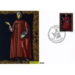 FDC ITALIA 2004 Cartolina Poste Italiane Unif. 2783 Francesco Petrarca
