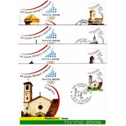 FDC ITALIA 2004 Cartolina Poste Italiane Unif. 2779/2 Giochi Olimpici Invernali