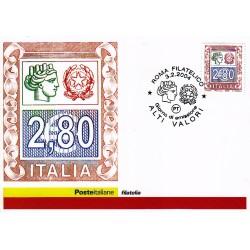 FDC ITALIA 2004 Cartolina Poste Italiane Unif. 2776 Alti Valori € 2,80