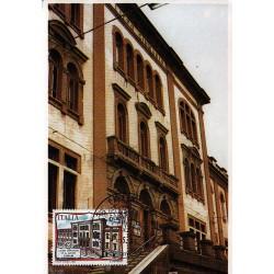 FDC ITALIA 1991 Cartolina Roma Unif. 1986 Liceo D.A. Azuni A/PA