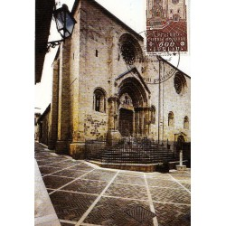 FDC ITALIA 1991 Cartolina Roma Unif. 1985 Lanciano S.M. Maggiore A/RM