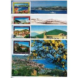 FDC ITALIA 1991 Cartolina Roma Unif. 1972/5 Propaganda Turistica