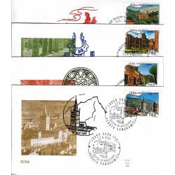 FDC ITALIA 1995 ALA Unif. 2199/02 Propaganda Turistica AS/Vari
