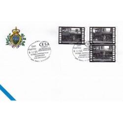 FDC SAN MARINO Marcofilia Annullo Speciale 08/11/1995 CESA CENTRO EUROPEO