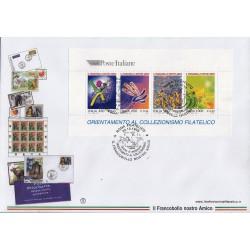 FDC ITALIA 1999 Filagrano Unif. 2468/71 Orientamento collezionismo Filatelico AS/Roma