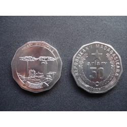 MADAGASCAR 50 ARIARY 2005 FDC