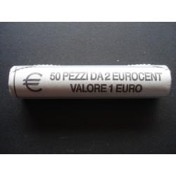 ROTOLINO 2 CENTESIMI DEL 2007 DA 50 MONETE FDC