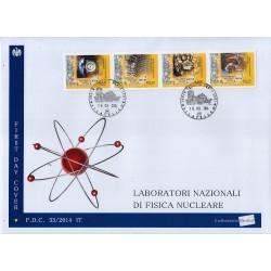 FDC ITALIA 33/2014 Unif. 3568/71 Fisica Nucleare A/Venaria